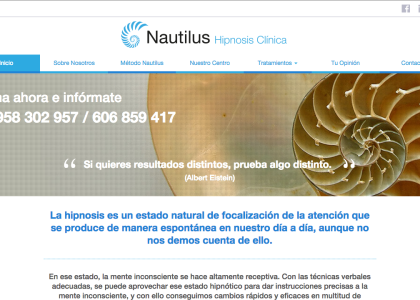 posicionamiento web para nautilus centro Granada