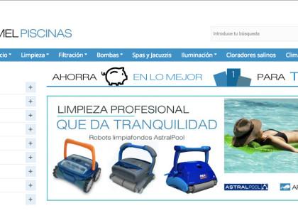 tienda online de material de piscina