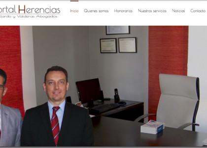 posicionamiento web de portal herencias Granada