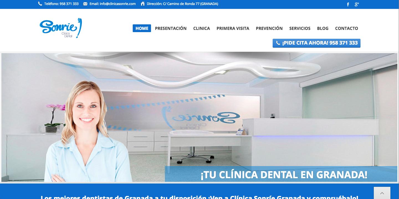 posicionamiento clinica dental sonrie granada