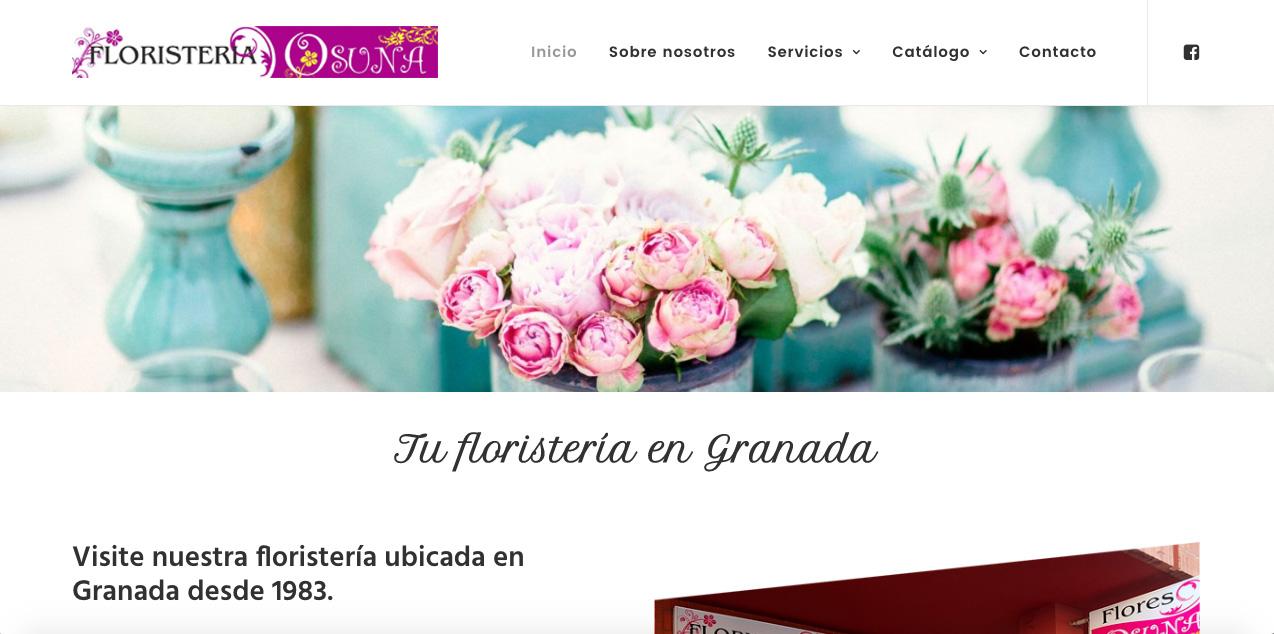trabajo realizado floristeria osuna Granada