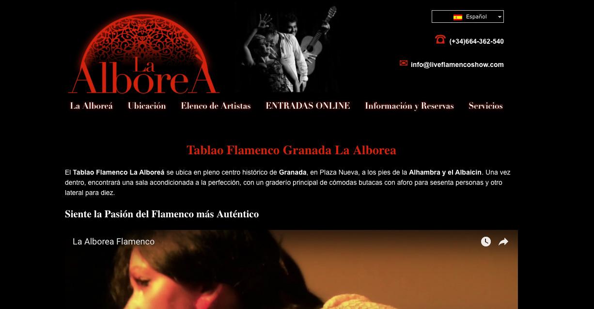 posicionamiento SEO La Arbolea Flamenco Granada