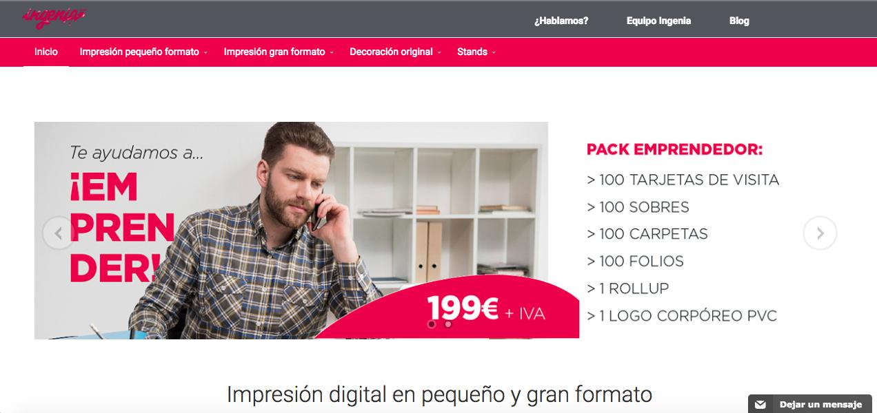Posicionamiento web de Ingenia Digital