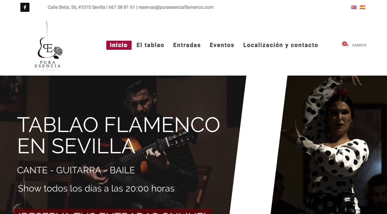 posicionamiento tablao flamenco